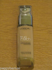L'OREAL TRUE MATCH FOUNDATION GOLDEN IVORY 30ml