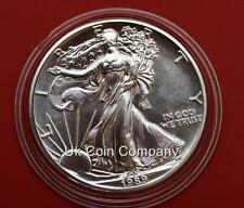 1989 AMERICAN FINE SILVER 1oz LIBERTY EAGLE $1 ONE DOLLAR COIN