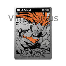 SDCC 2016 Udon Exclusive BLANKA METAL STREET FIGHTER CARD SERIES 2 #008