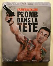 """Shoot Out (Bullet to the Head)"" Jumbo-Steelbook, Bluray+DVD, neu&ovp, Stallone"