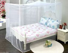 Mosquito Net Insect Fly Netting Canopy Indoor Outdoor Camping with Portable Case