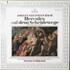 BACH: Hercules at the Crossroads-M1980LP ARCHIV PRODUKTION PETER SCHREIER