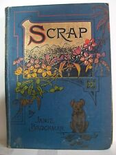 Book. Scrap: or, The Mystery of Davington Caves by Janie Brockman. Pre 1903. HB