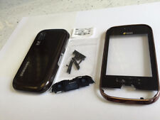 For Samsung Galaxy Duos GT B5722 Fascia Housing Back Battery Cover Brown UK