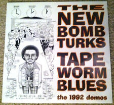 "NEW BOMB TURKS Tapeworm blues LP 10"" demos dirtys crypt punk devil dogs hookers"