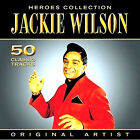 JACKIE WILSON 50 CLASSIC TRACKS NEW SEALED 2CD HEROES EARLY HITS / BEST OF