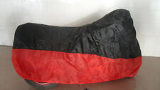Sport Bike Dual-sport Motorcycle Cover UV Protection Black Red L Size