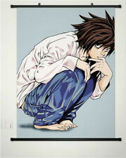 Japanese anime DEATH NOTE L Kira Poster Home Decor Poster Wall Scroll 40*60cm