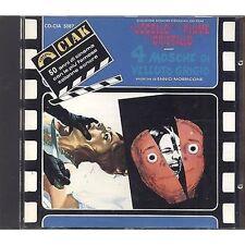 ENNIO MORRICONE L'uccello dall piume / 4 Mosche di velluto blu - CD OST 1991