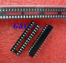 10PCS  28-Pin DIL DIP IC Socket PCB Mount Connector NEW GOOD QUALITY