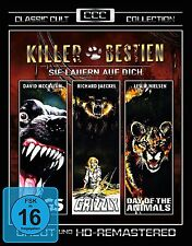 KILLER BESTIEN  Panik in Sierra Nova Day Animals GRIZZLY Dogs Tierhorror DVD Box