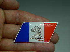 PEUGEOT SPORT boot badge/emblem Side Wing Fender 106 206 308 GT TDI sport  Badge