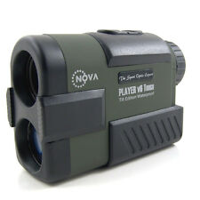 NovaOptik Golf Laser Rangefinder PinSeeker SCAN Slope Waterproof Player V6 Tough