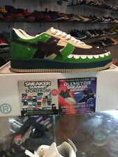 A Bathing Ape Bapesta sz 11 BAPE KAWS Chompers Coffee Green DS nigo roadsta