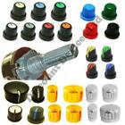 Aluminium And Plastic knobs for Potentiometers /Switches/ Encoders