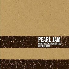 * PEARL JAM - 07/11/03 Mansfield, Massachusetts - 3CD
