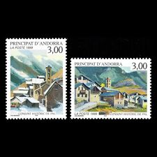 Andorra 1999 - Historical Pictures from Pal Architecture Art - Sc 511/2 MNH
