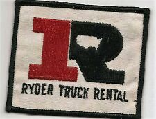 Ryder Truck Rental driver/employee patch 3 X 3-1/2