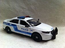 1/24 SCALE MONTREAL CANADA POLICE DIECAST MODEL WITH WORKING LIGHT AND SIREN