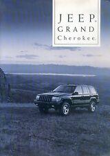 JEEP GRAND CHEROKEE prospetto e 95/97 brochure 1997 span auto automobili macchine America