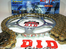 SUZUKI GSX1300R HAYABUSA '99/07 DID 530 ZVMX X-RING CHAIN & SPROCKETS *PREMIUM