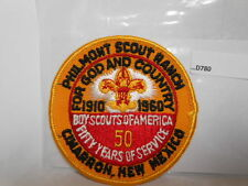 PHILMONT SCOUT RANCH 1960 50 YEARS D780