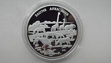 2002 Congo 1000 Francs African Wildlife Silver Proof coin