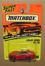 MATCHBOX RED DODGE VIPER RT/10