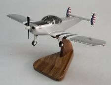 ERCO Ercoupe 415-C Airplane Handcrafted Wood Model Regular New