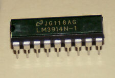 LM3914 Dot/Bar Display Driver DIP18 for 10 segment LED Displays, ships from USA!