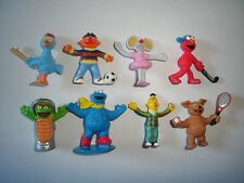 SESAME STREET FIGURINES SET ALBERT HEIJN 1 - FIGURES COLLECTIBLES MINIATURES