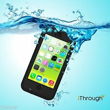 iThrough Mac Apple iPhone 5c Waterproof Skin Protection Carry Cover Case