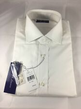 Polo Ralph Lauren Purple Label Tailored Bond White Dress Shirt Size 15 1/2 M