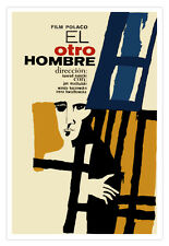 """Cuban movie Poster 4 film""""The OTHER Man""""Polish film.Collectible room Decor"""