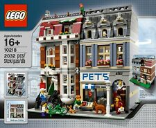 LEGO Pet Shop 10218 BRAND NEW FACTORY SEALED Retired Building Set Hard to Find