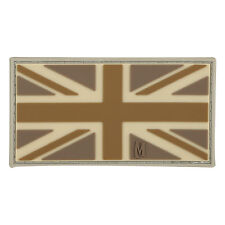 PVC Morale Patch - MAXPEDITION - UK British England Flag - ARID TAN color