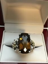 Ann King Sterling Silver 925 Yellow Gold 18K Ring Size 6.75