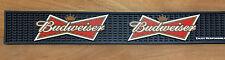 """Budweiser Beer Bowtie - Bar Rail Spill Mat - New & Free Shipping - 24"""""""