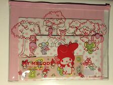 Rare Vintage Sanrio Original Japan My Melody Vinyl Pouch Stationary Letter Set
