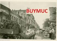 BUYMUC FOTO CITY VILLE STADT MINSK WEHRMACHT LKW 12,10,15 2