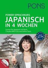 PONS Power-Sprachkurs Japanisch in 4 Wochen (2014, Taschenbuch)