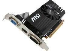 MSI Radeon R7 240 DirectX 12 R7 240 2GD3 LP 2GB 128-Bit DDR3 PCI Express 3.0 x16