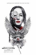 "Hunger Games Mockingjay Part 2 ORIGINAL S/S 13""x19"" IMAX Movie Poster Lawrence"