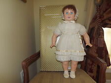 1993 Horsman Replica 1928 Baby Rosebud 28 in Numbered With Box