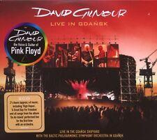 """DAVID GILMOUR """"LIVE IN GDANSK"""" 2 CD NEW+"""
