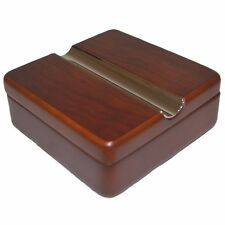 Cigar ASHTRAY Rosewood Twist Lid Smoker Cigarette Birthday Christmas Present