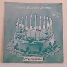 """33T SUPER JAZZ DES JEUNES Vinyle LP 12"""" SAINT-AUDE DUPERVIL AUGUSTRE - IBO 118"""