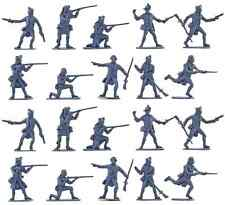 Accurate U.S or Canadian Militia set #1 - 20 54mm toy soldiers in gray color