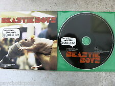 Beastie Boys-ch-check it out Promo Cd & Libro → A History of the Beastie Boys