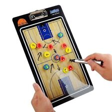 Two-sided Magnetic Basketball Coaching Board Dry Erase Clipboard Tactical Kit